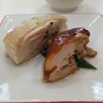 わかば食堂 - 16.07.27【玻璃青山 吉田隼之シェフ】葱油貴妃雞・豉油雞