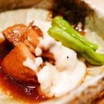kasane - 【豚の角煮】             トロトロぷるぷるの食感。ウマー!口の中で溶けて無くなる感じ。