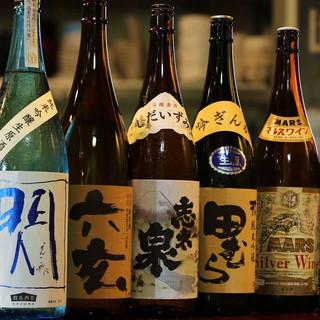 老舗からのこだわり日本酒!