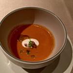 リストランテ ラ・バリック トウキョウ - 冷製スープ