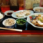 中華料理 楼蘭 - 料理写真:ボリューム定食?
