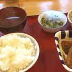 55832778 - 唐揚げと、竜田揚げのお昼ご飯(=´∀`)人(´∀`=)