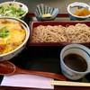 そば膳処 かまくら - 料理写真:かつ丼 そばセット