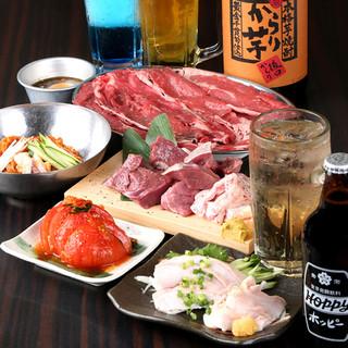 宴会も肉力屋で♪コースは2980円飲放付~2名様から利用可!