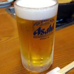 山賊鍋 - 生ビール