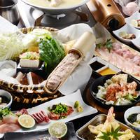 とりなべ マルニ - 【金】コース…地鶏料理を心ゆくまで(8品)