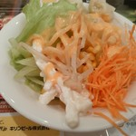 洋食キッチン シャトー - 【2016.9.8(木)】サラダバーの野菜サラダ