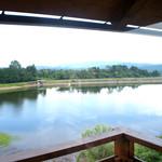 木楽 - 2階からの風景。季節ごとに色々な顔を見せてくれる眺めです。