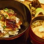 55840663 - 琵琶湖天然鰻の蒲焼ごはんお食事セット