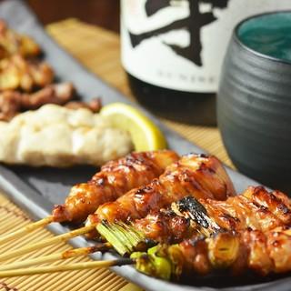 朝びき鶏の新鮮・美味しい焼き鳥