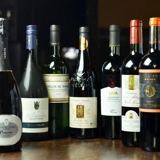 ワイン専門卸しの御見立てワイン(赤・白・微発泡)