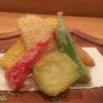 四季の食 さいとう - 衣の薄さが語る技、この天ぷらは素晴らしい