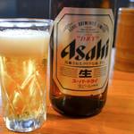 てんやわんや - 瓶ビール