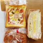 林パン店 - 料理写真:計360円