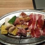 55843506 - BBQお肉の盛り合わせ
