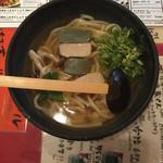 元蔵 錦本店 - 京湯葉と生麩あんかけうどん ¥1,188-