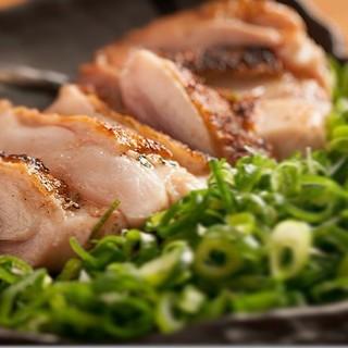 【食べていただきたい逸品】◆丹波の朝引き地鶏たたき◆