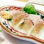 55848736 - 小鯛のシソ酢‼︎酸味が程よく大阪の味かも(*^^*)