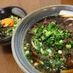 宮崎うどん ふくや - 料理写真:肉うどん