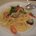 ラ・ポルタ - 野菜と秋鮭とツナのペッパー風味