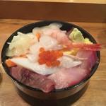 寿司処おかだ - 生チラシ 760円