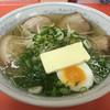 ひだるか屋 - 料理写真:塩ラーメン+バターァ〜