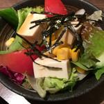 55851745 - 豆腐サラダ