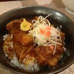支那そば 二階堂 - 豚トロ丼(380円)