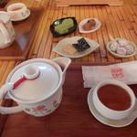九份阿妹茶酒館 - 冷たい烏龍茶セット300元