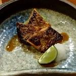 鮨 すぎ乃 - 秋刀魚の肝焼