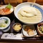 55856441 - 稲庭うどんとミニ丼セット (平日限定)1,000円