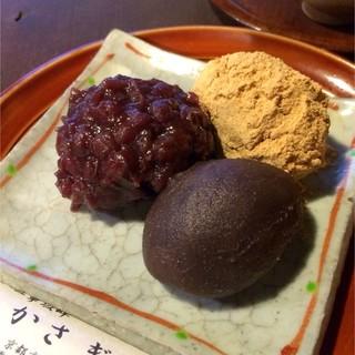 かさぎ屋 - 萩の餅