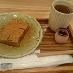 茶房 山中 - わらび餅