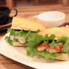 ときわcafe - 料理写真:サンドイッチランチ