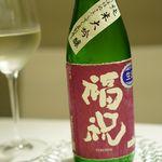 リストランテ サクラ - 純米大吟醸『福祝』700円