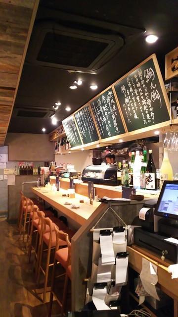 鯛之鯛 梅田店 - 1609 鯛乃鯛 店内雰囲気カウンター