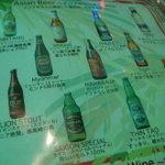 5586652 - アジアのビールがいっぱい。