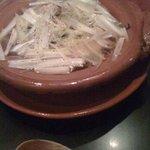 日本料理 TAKEMOTO - 小鍋(旬野菜と穴子