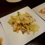 中華料理 忠実堂 - 海鮮のXO醤炒め