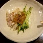 中華料理 忠実堂 - 棒々鶏(取り分け後)
