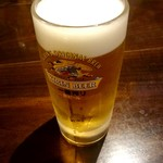 中華料理 忠実堂 - 生ビール