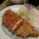 いなば和幸 - チキンカツ定食690円(税別)