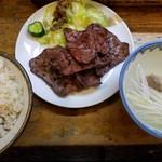 55865087 - 牛タン定食1.5人前(1600円)