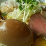 竹末東京Premium - 味玉鶏ホタテそば  アップ