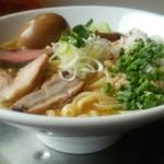 竹末東京Premium - 味玉鶏ホタテそば¥1000