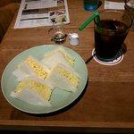 Drip-X-Cafe - ふんわりタマゴサンドモーニング 650円