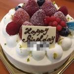 55866676 - 誕生日プレートは数種類用意