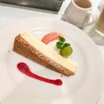 サンデーブランチ - ミニデザート「リコッタチーズケーキ」