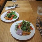 コロピッテ - 前菜とサラダ