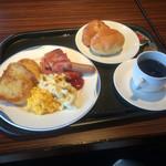 ブリーズベイホテル - 一泊目の朝食